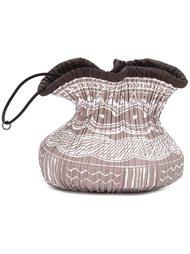 плиссированная сумка на шнурке Pleats Please By Issey Miyake