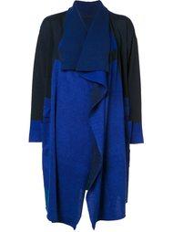 long draped front cardigan  Issey Miyake