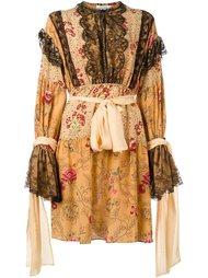 платье с оборками Faith Connexion