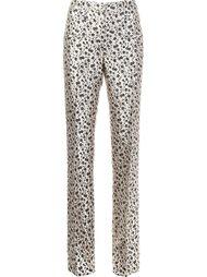 floral jacquard trousers  Altuzarra