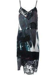 асимметричное платье DKNY