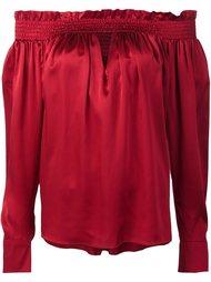 блузка с приспущенными плечами Alexandre Vauthier