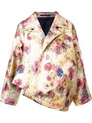 floral print oversized jacket Comme Des Garçons