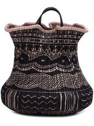 плиссированная сумка-ведро с рисунком Pleats Please By Issey Miyake