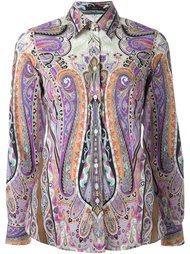 рубашка с принтом барокко  Etro