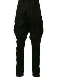 узкие брюки с накладными карманами Julius