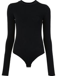 extended sleeve bodysuit Protagonist