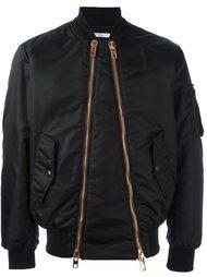 куртка-бомбер с двойной застежкой-молнией Givenchy