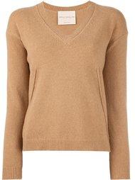 свитер с V-образным вырезом Erika Cavallini