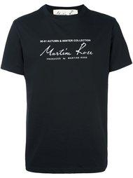 футболка 'Classic Logo' Martine Rose