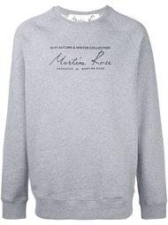 толстовка 'Classic Logo' Martine Rose