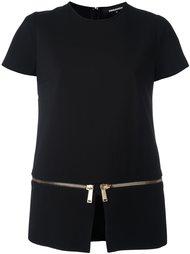 блузка с молниями Dsquared2