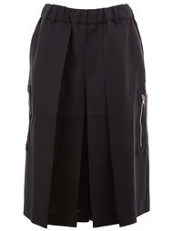 pleated short wide leg trousers Moohong