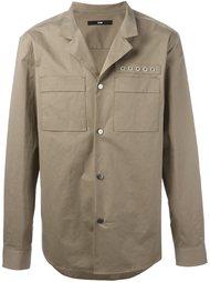 куртка-рубашка с люверсами System Homme