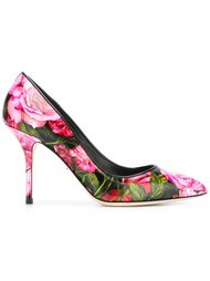 peony print pumps  Dolce & Gabbana