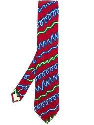 printed tie Kansai Yamamoto Vintage