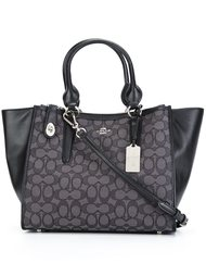 contrast panel tote bag Coach
