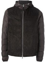 куртка-пуховик с капюшоном Eleventy