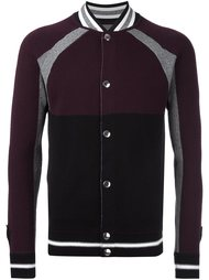 вязаная куртка колор-блок  Givenchy