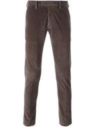 вельветовые брюки скинни Pt01