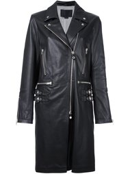 удлиненная байкерская куртка Alexander Wang