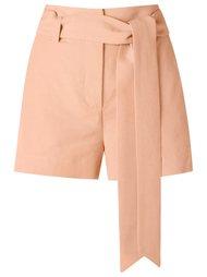 tie fastening shorts Giuliana Romanno
