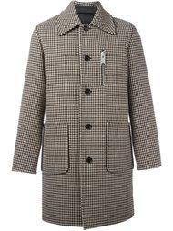 пальто с узором в ломаную клетку Yang Li
