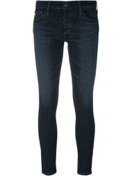 укороченные джинсы скинни Ag Jeans