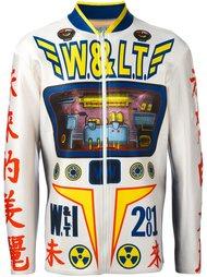 printed neoprene jacket Walter Van Beirendonck Vintage