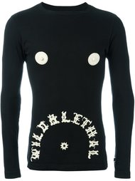 топ 'glow in the dark' Walter Van Beirendonck Vintage