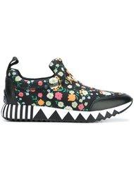 кроссовки с цветочным принтом Tory Burch
