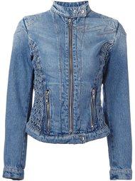 джинсовая байкерская куртка Walter Van Beirendonck Vintage