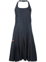 джинсовое платье с вырезом-халтер Walter Van Beirendonck Vintage