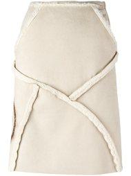 юбка А-силуэта с панельным дизайном Walter Van Beirendonck Vintage