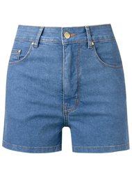high waist denim shorts Amapô