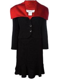 двухсторонний юбочный костюм  Christian Dior Vintage