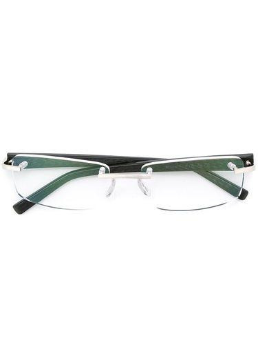 очки в прямоугольной оправе  Tag Heuer