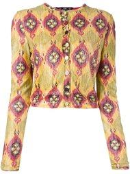 укороченный пиджак John Galliano Vintage