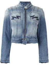 укороченная джинсовая куртка Walter Van Beirendonck Vintage