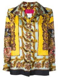 baroque printed blouse Christian Lacroix Vintage
