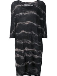 marbled dress Raquel Allegra