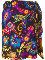 floral print skirt Moschino Vintage
