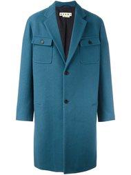 пальто с накладными карманами Marni