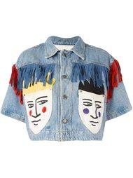 укороченная джинсовая куртка Jc De Castelbajac Vintage