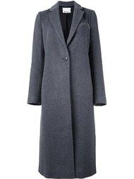 однобортное пальто T By Alexander Wang