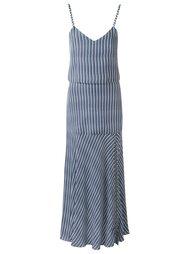 striped midi dress Giuliana Romanno