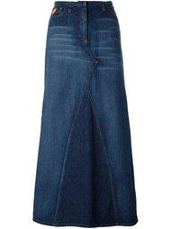 длинная джинсовая юбка Walter Van Beirendonck Vintage