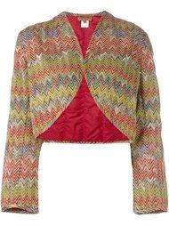 padded bolero jacket Missoni Vintage