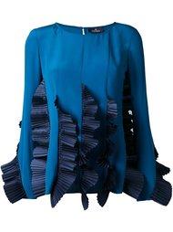 блузка с оборками  Capucci