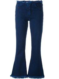 расклешенные джинсы  Marques'almeida